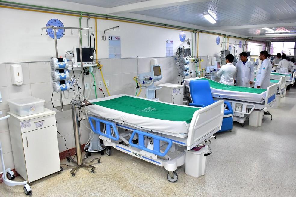 Hospital da Mulher foi adaptado para atender pacientes com novo coronavírus em São Luís — Foto: A.Baeta