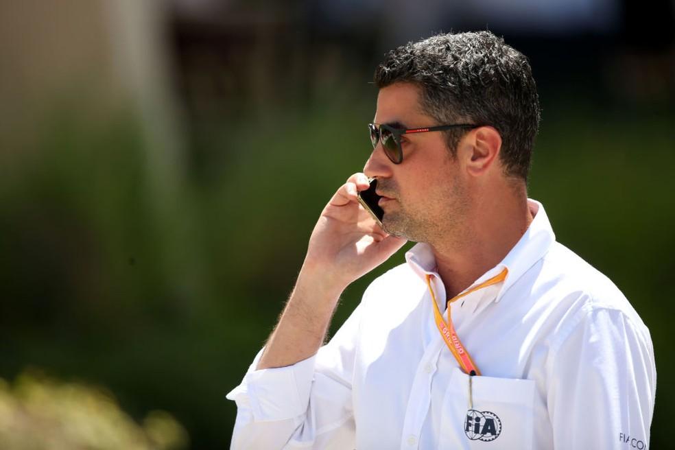 Michael Masi, diretor de corridas da FIA, no GP da França de 2019 — Foto: Charles Coates/Getty Images