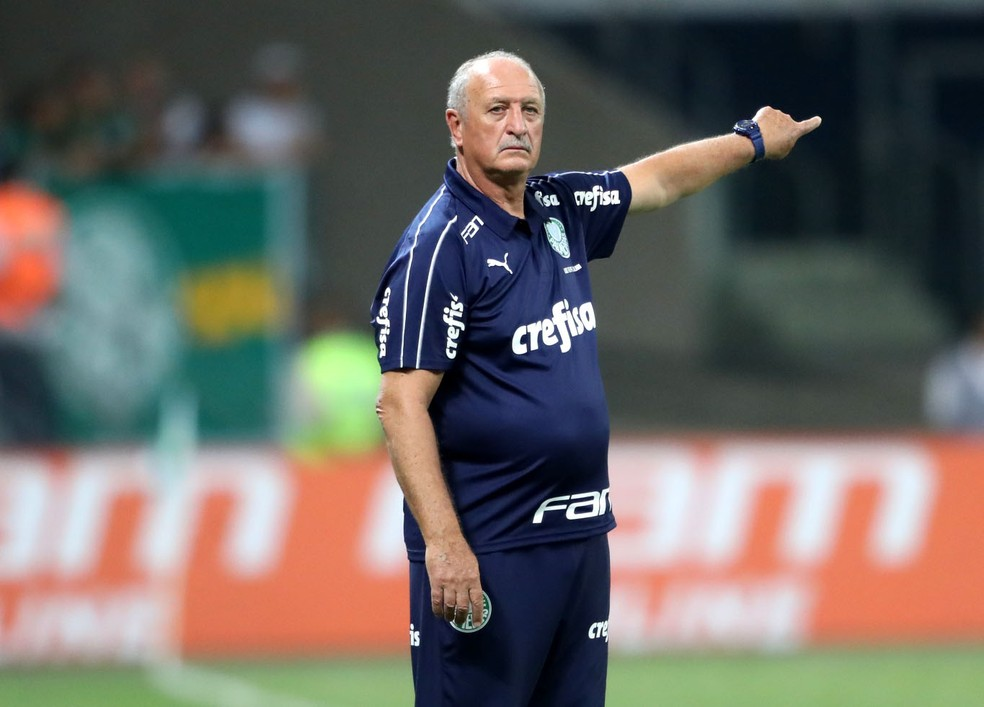 Felipão venceu todos os clássicos que disputou desde a volta ao Palmeiras â?? Foto: Alex Silva / Estadão Conteúdo