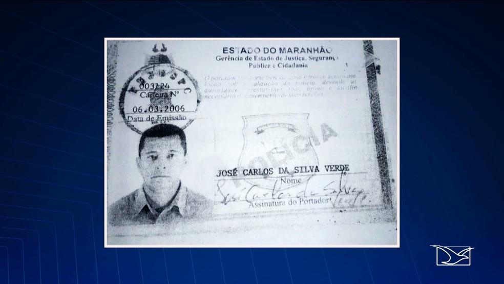 -  José Carlos da Silva Verde assassinou o servidor federal em São Luís.  Foto: Reprodução/TV Mirante