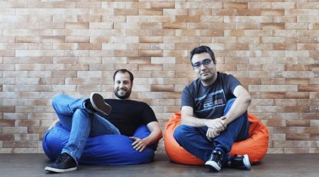 Gabriel Braga e André Penha, os fundadores da Quinto Andar (Foto: Divulgação)
