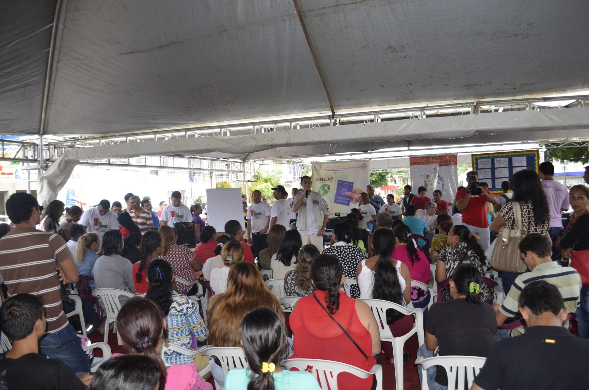 Dia do Trabalhador em Macapá terá mais de 50 serviços e sorteio de prêmios