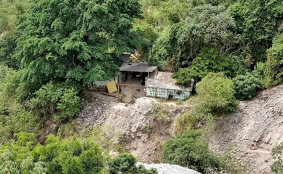 Acidente aconteceu em mina na cidade de Pindobaçu — Foto: João Barbosa/TV São Francisco