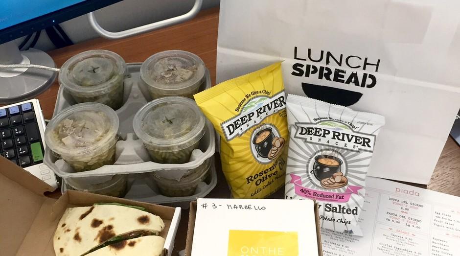 lunchspread (Foto: Reprodução/Meals for Steals)