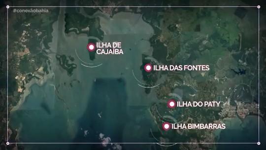 Conheça a geografia, a arte e a história da Ilha das Fontes e da Ilha de Cajaíba
