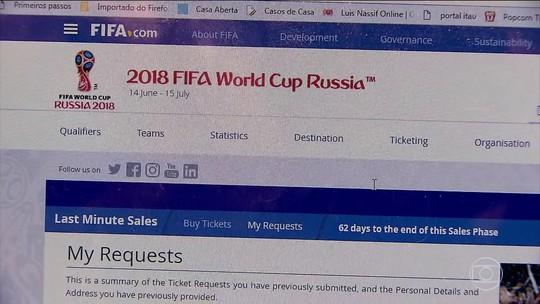 A um mês da Copa, torcedores que vão para a Rússia ainda não receberam ingressos