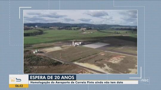 Aeroporto na Serra catarinense segue sem previsão para começar a operar voos