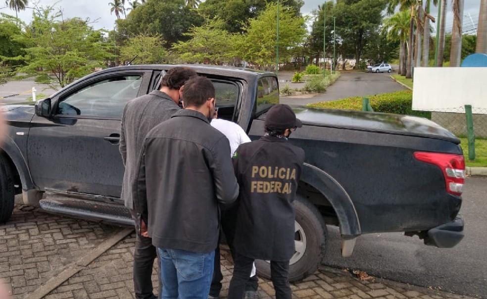 Polícia Federal realizou prisão preventiva e prisões em flagrante nesta quinta-feira (21), em Pernambuco — Foto: Polícia Federal/Divulgação