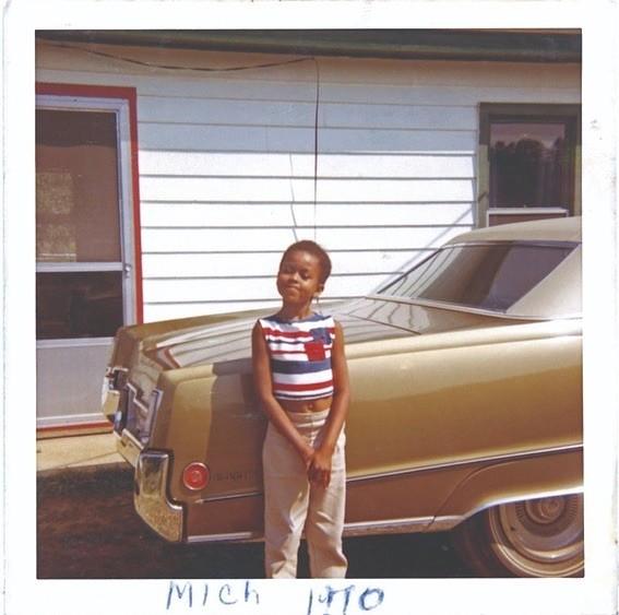 Michelle em 1970 (Foto: Reprodução / Instagram)