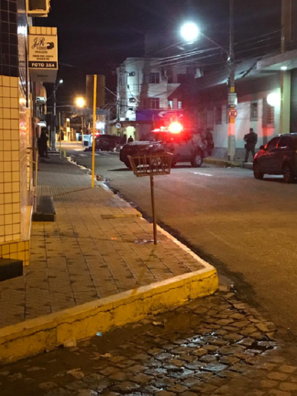 Troca de tiros na cidade de Milagres, na Região do Cariri do Ceará. — Foto: Reprodução/TV Verdes Mares