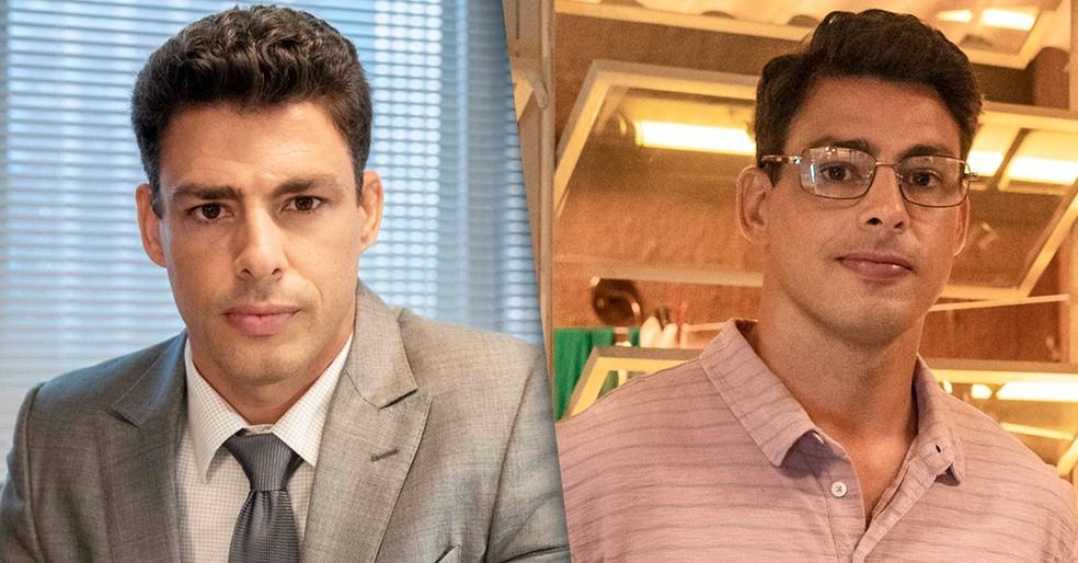 'Um Lugar ao Sol': Cauã Reymond retorna à TV como gêmeos separados por tragédia — Foto: Globo/Fábio Rocha