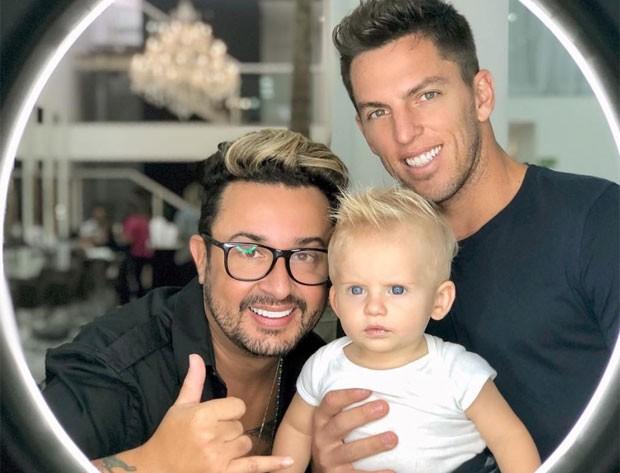 Fabinho, Enrico e Amaury (Foto: Reprodução)