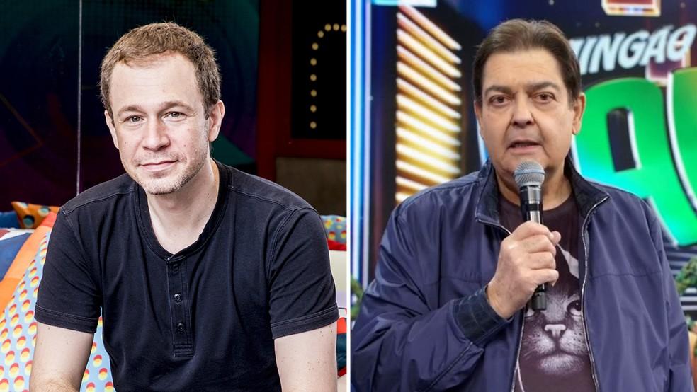 Tiago Leifert vai apresentar o 'Domingão do Faustão' neste domingo (13) — Foto: TV Globo