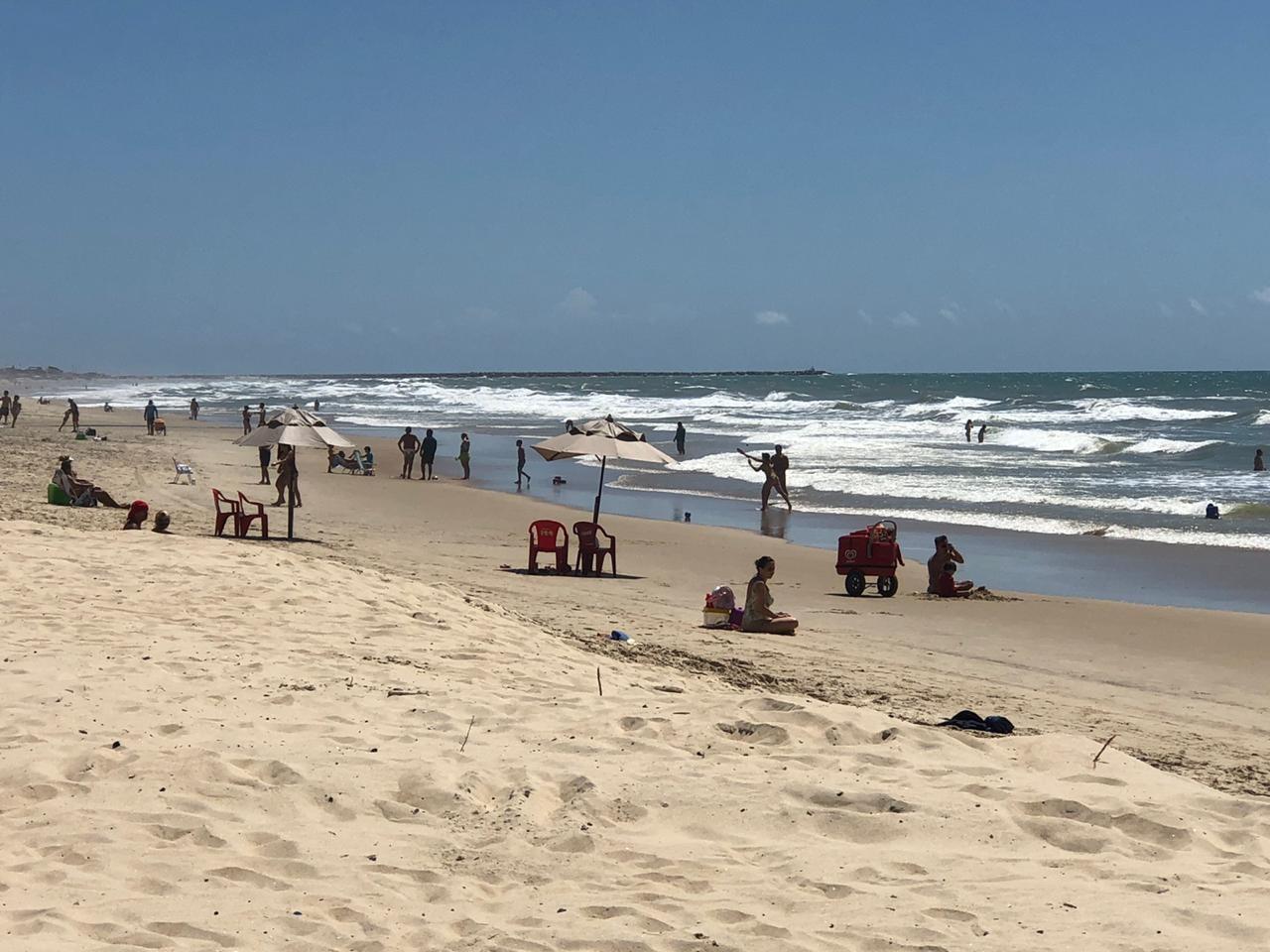 Fortaleza tem 24 pontos da orla próprios para o banho no fim de semana, incluindo Praia do Futuro