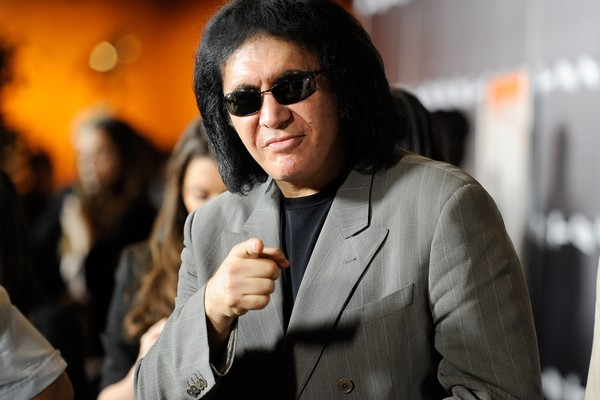 O cantor Gene Simmons do grupo Kiss (Foto: Getty Images)