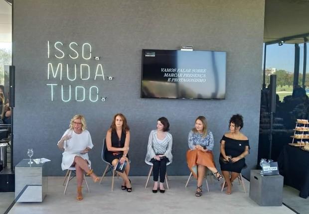 Apresentação da plataforma TRESemmé Toque de Expert (Foto: Época NEGÓCIOS)
