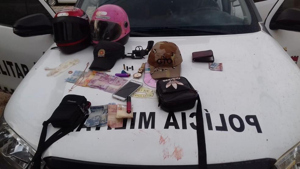Dois homens morrem após confronto com PMs em Apodi, RN — Foto: PM/Divulgação