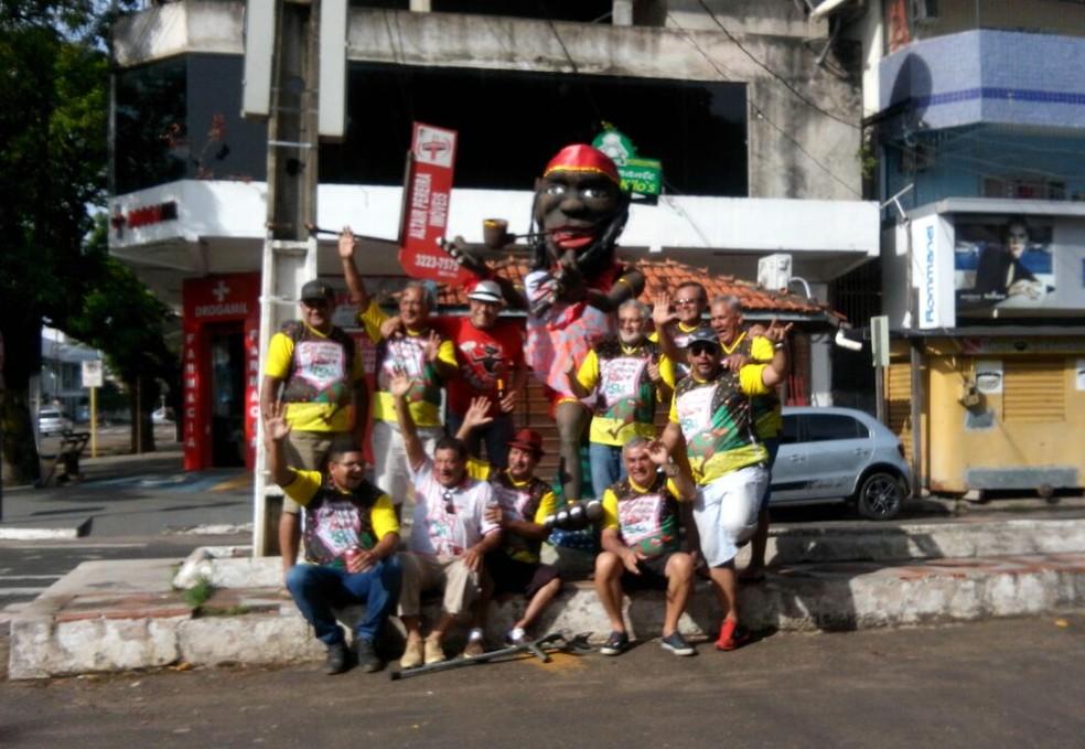 -  Festa acontece na esquina da Av. Iracema Carvão Nunes com a Rua General Rondon, no Centro de Macapá  Foto: Bloco Saci Pererê/Divulgação