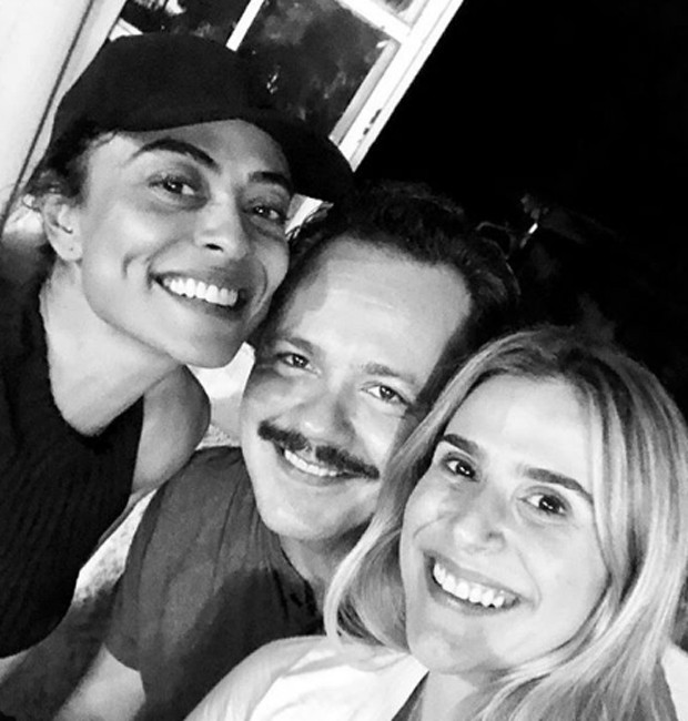 Juliana Paes, Danton Mello e Sheila Ramos (Foto: Reprodução/Instagram)