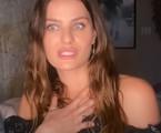 Isabeli Fontana, que está no ar na 'Dança dos famosos' | Reprodução
