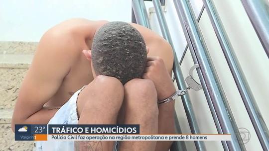 Polícia Civil faz operação para combater tráfico de drogas e homicídio em Sabará