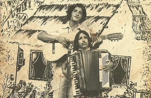 A dupla sertaneja Neilton e Mirosmar cantava em Goiânia na década de 1970 (Foto: Arquivo pessoal)