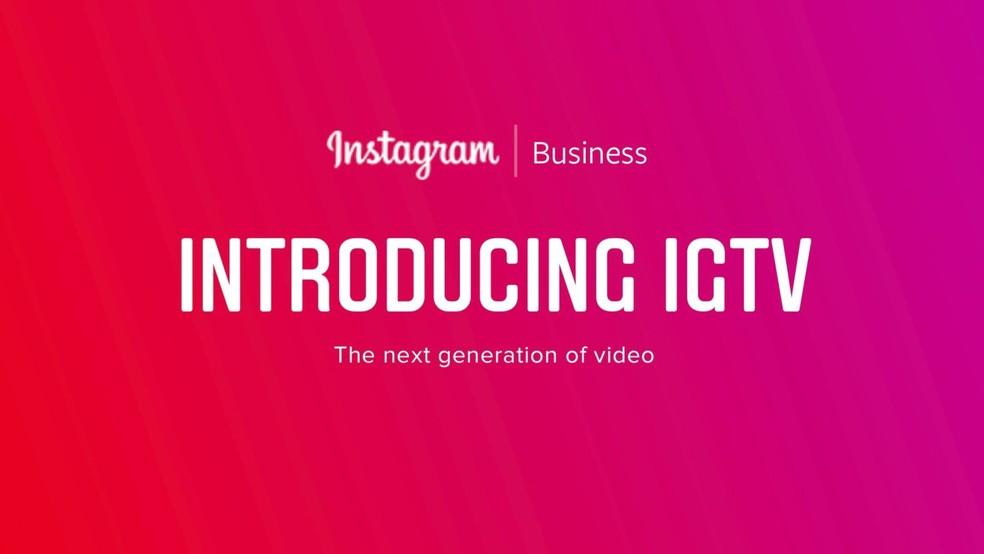 IGTV aceita vídeos em alta resolução e tem foco em criadores de conteúdo (Foto: Reprodução/9to5mac)