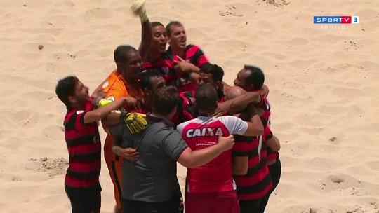 Vitória supera o Vasco e leva título inédito da Libertadores da América de futebol de areia