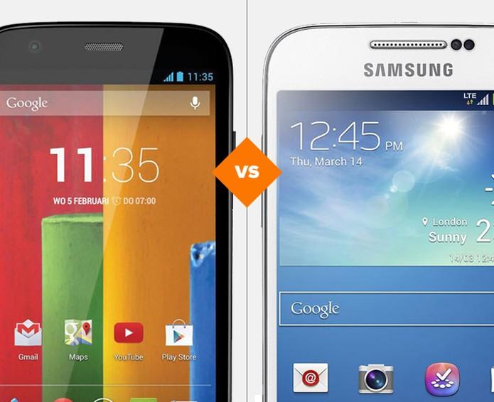 Moto G ou Galaxy S4 Mini? Qual o melhor para o seu perfil? (Foto: Arte/TechTudo)
