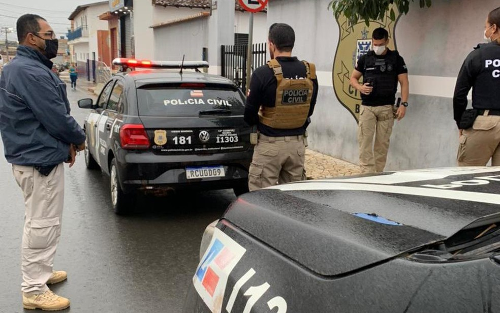 Participam da operação todas as 26 coordenadorias de polícia do interior da Bahia — Foto: Divulgação/Polícia Civil