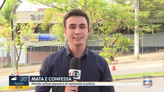 Homem se entrega à polícia e diz que matou a mulher em Pedro Leopoldo, na Grande BH