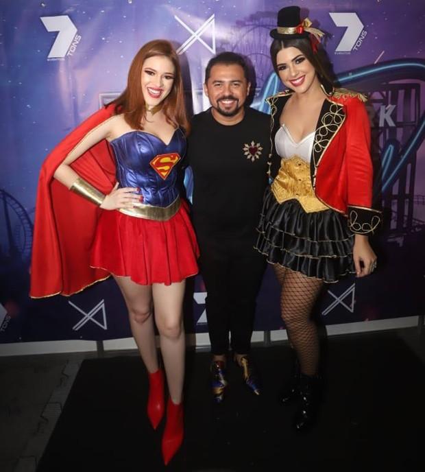Ana Clara, Xand e Vivian Amorim (Foto: Fred Pontes/Divulgação)