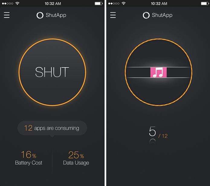 ShutApp é um app que economiza bateria e elimina notificações indesejadas (Foto: Diivulgação/ShutApp)