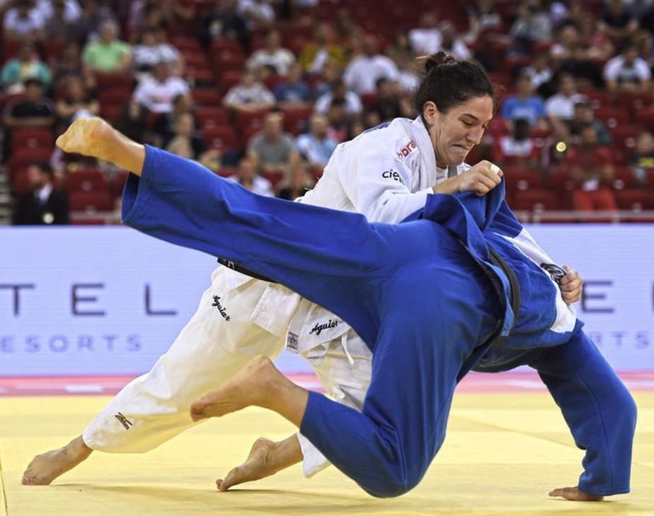 Mayra Aguiar é ouro no GP de Budapeste, e Brasil termina em 2º lugar no quadro de medalhas