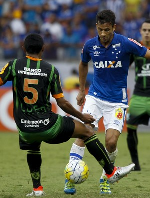 Henrique; Cruzeiro; América-MG (Foto: Washington Alves/Light Press)