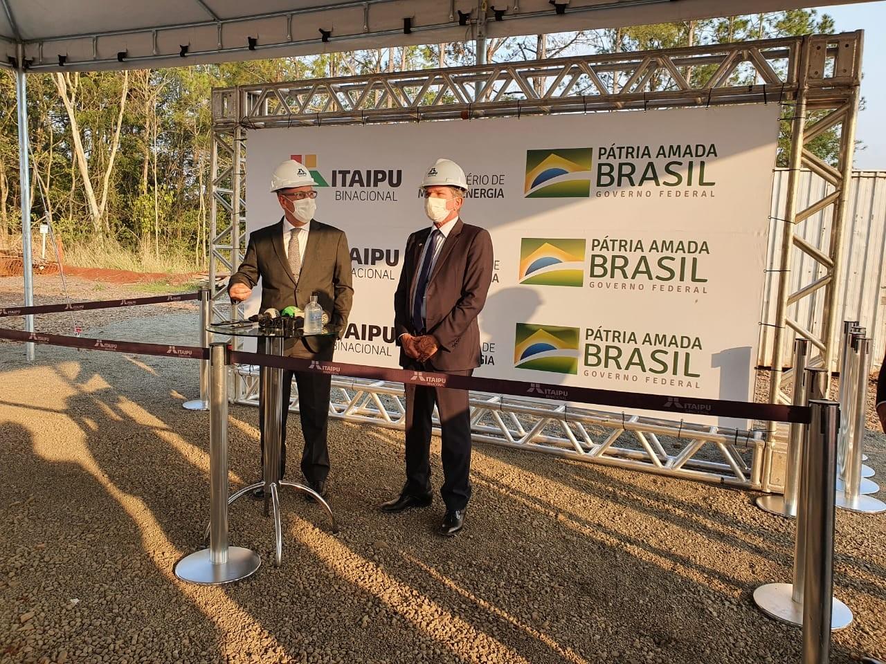 Em visita à Itaipu, ministro de Minas e Energia diz que preço do gás de cozinha pode baixar no longo prazo