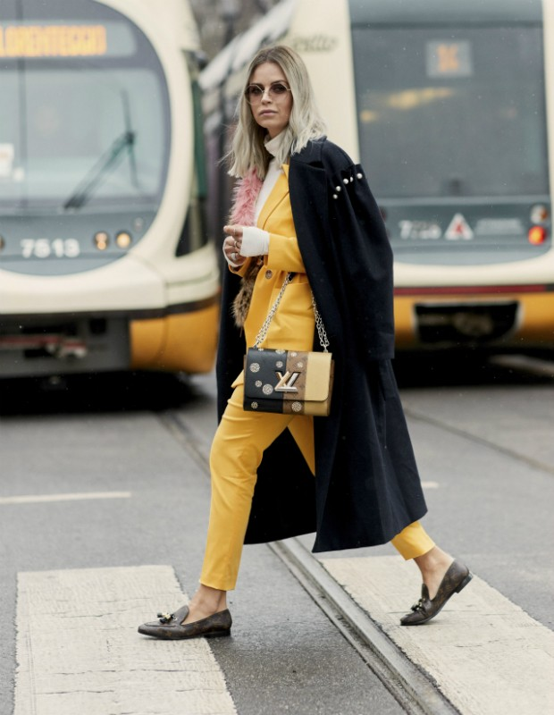 Look total yellow! (Foto: Imaxtree)