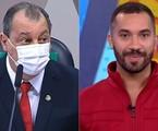 Senador Omar Aziz e Gil do Vigor  | Reprodução