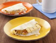 Tapioca cartola une doce pernambucano com leite condensado e banana