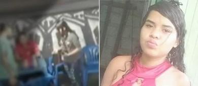 Jovem que apareceria em vídeo cometendo roubo é executada (Reprodução)