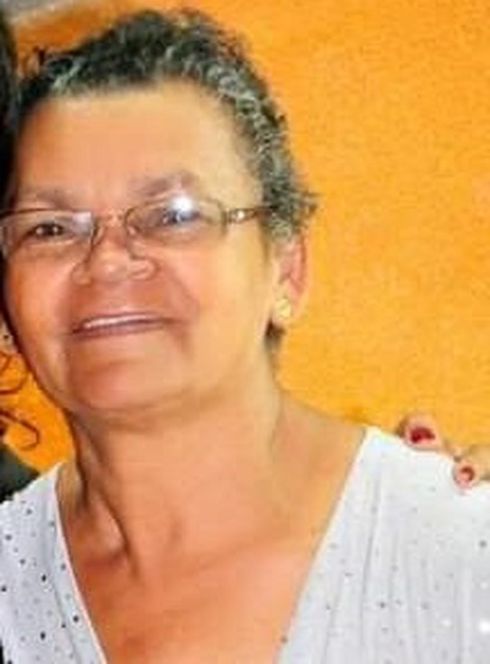 A professora aposentada Neriza Caetano, de Sinop, morreu com Covid-19 na última terça-feira (16) — Foto: Arquivo pessoal