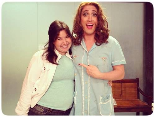 Mariana Xavier e Paulo Gustavo (Foto: Reprodução/Instagram)
