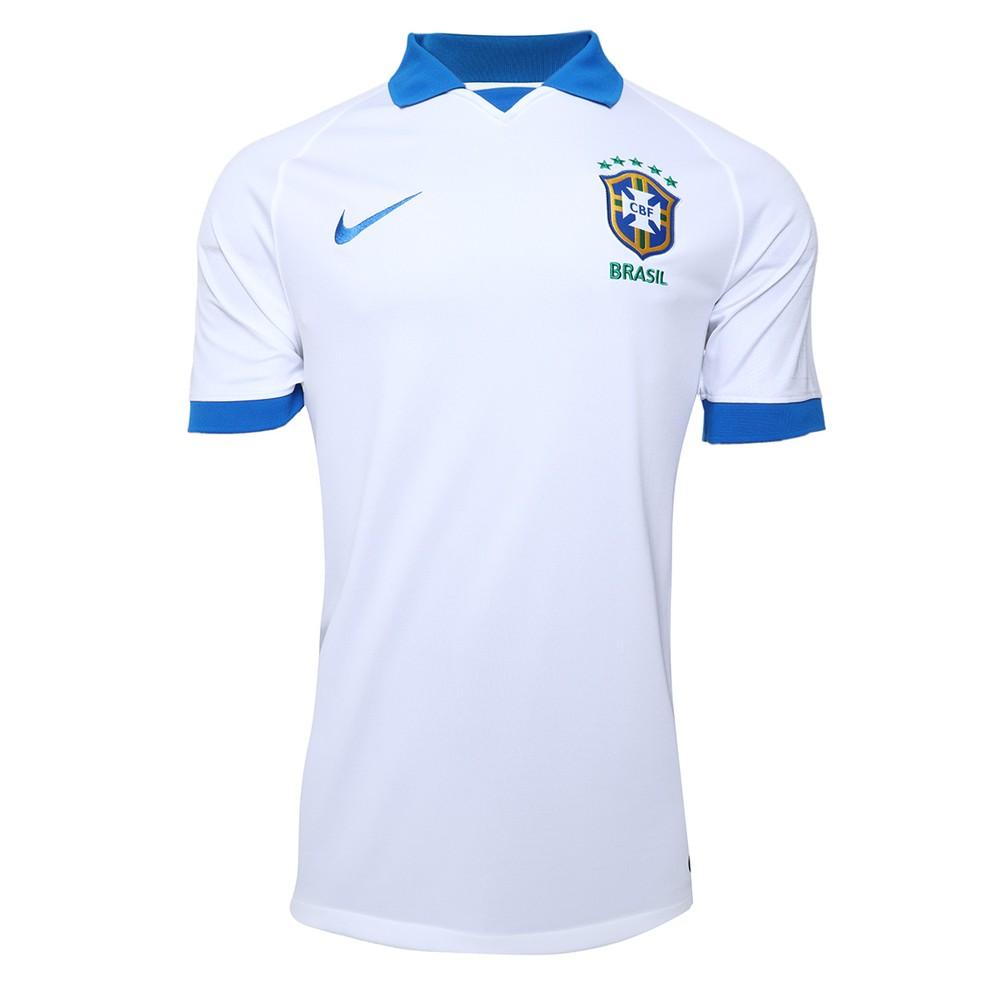 Camisa branca da seleção brasileira para a Copa América — Foto: Reprodução / Twitter