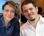 Leandra Leal e Bruno Safadi | Instagram e Fábio Rossi