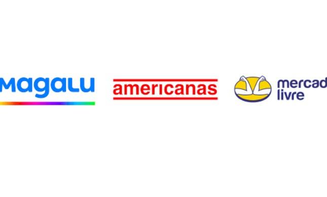 Magazine Luiza, Americanas e Mercado Livre