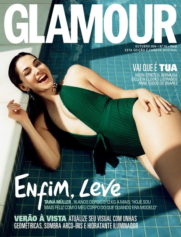 Tainá Müller na capa da Glamour de outubro (Foto: Helm Silva / Arquivo Glamour)