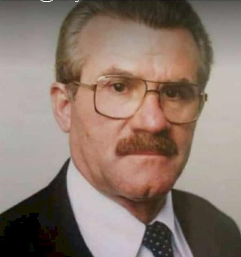 João Venâncio, de 73 anos, está desaparecido desde quarta-feira, 23.  — Foto: Arquivo pessoal
