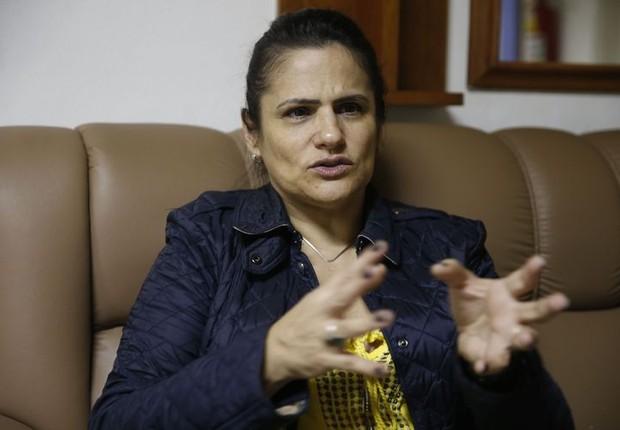 Andrea Aguiar Azevedo, diretora-executiva de engajamento, participação e desenvolvimento institucional da Fundação Renova (Foto: Tânia Rêgo/Agência Brasil)