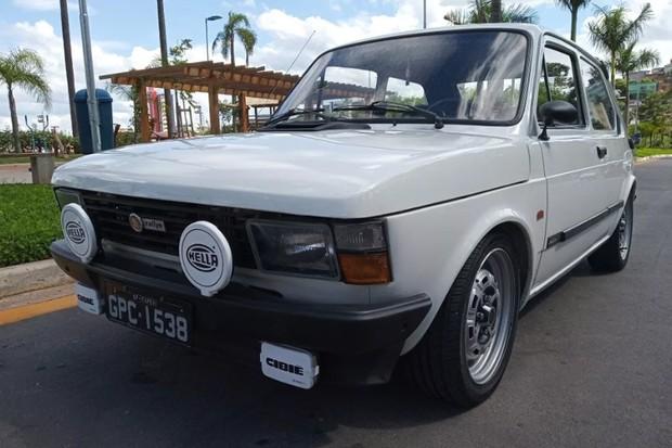 Fiat 147 Rallye está em bom estado de conservação (Foto: Reprodução)