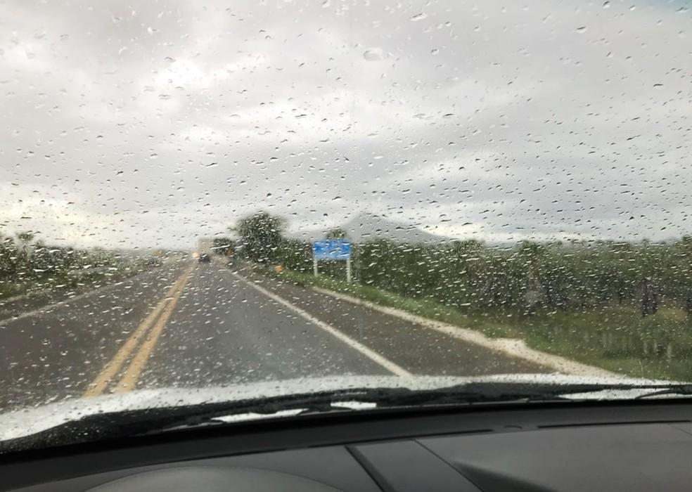 Inmet emite alerta de chuvas intensas em 128 municípios do RN — Foto: Bruno Andrade